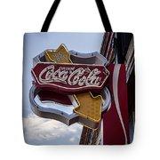 Drink Coca Cola Sign Tote Bag