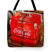 Drink Coke In Bottles Tote Bag