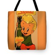 Drink Squirt Sign Tote Bag
