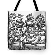 Drinking Party, 1516 Tote Bag
