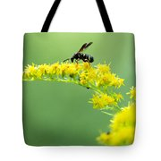 Drinking Up Flower Nectar Tote Bag