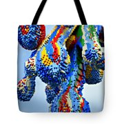 Dripping Lego Paint Tote Bag