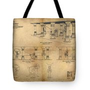 Drive Assembly Platform Tote Bag by James Christopher Hill