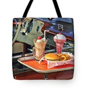 Drive-in Memories Tote Bag