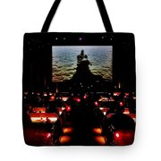 Drive-in Monster Movie Tote Bag