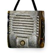 Drive In Movie Speaker Tote Bag