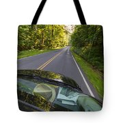 Drive To Vacation Tote Bag