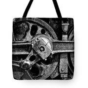 Drive Wheel - 190 - Bw Tote Bag