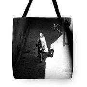 Driveby Encounter  Tote Bag
