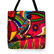Driven To Abstraction - Parts And Pieces Tote Bag
