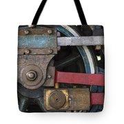 Drivin' Wheel Tote Bag
