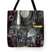 Driving Steam Tote Bag by MJ Olsen