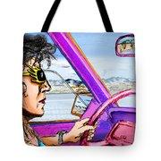 Driving Through Arizona Tote Bag