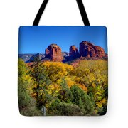 Driving Towards Beauty Tote Bag