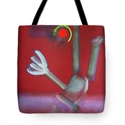 Falling Figure Tote Bag
