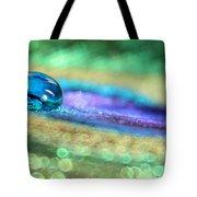 Drop Of Illusion Tote Bag