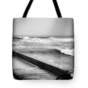 Dropping Bombs Tote Bag by Tyson Kinnison