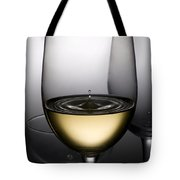 Drops Of Wine In Wine Glasses Tote Bag