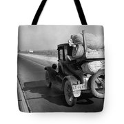 Drought Refugee, 1936 Tote Bag