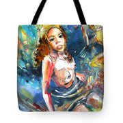 Drowning In Love Tote Bag