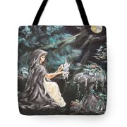 Druid's Meditation Tote Bag