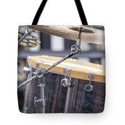 Drum Kit Set Closeup Tote Bag
