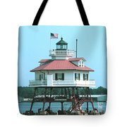 Drum Point Light Tote Bag