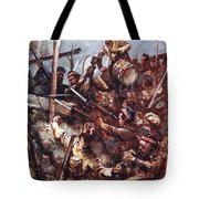 Drummer W. Ritchie Standing Tote Bag