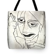 Drunk Girl Tote Bag
