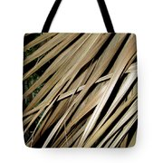 Dry Palm Leaves Tote Bag