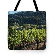 Dry Creek Road Vineyard Tote Bag
