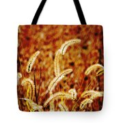 Dry Grass Tote Bag