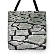 Dry Lake Bed Tote Bag