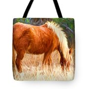 Dry Marsh Grasses Tote Bag