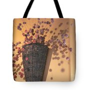Decorative Pussy Willow Tote Bag