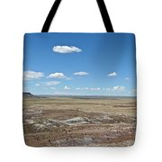 Dry Riverbed Tote Bag