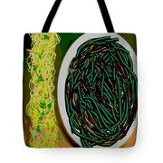 Dry Sauteed Stringbeans Tote Bag