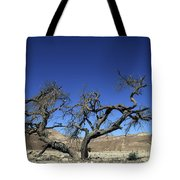 Dry Solitary Tree  Tote Bag