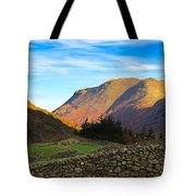 Dry Stone Walls In Patterdale In The Lake District Tote Bag