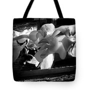 Drying Clothes Tote Bag