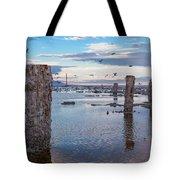 Drying Dock Tote Bag