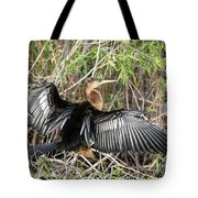 Drying Wings Tote Bag