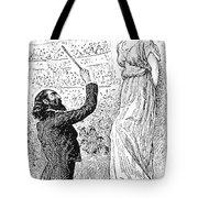 Du Maurier: Trilby, 1894 Tote Bag