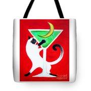 Moon Martini Tote Bag