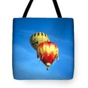 Dualing Ballons Tote Bag