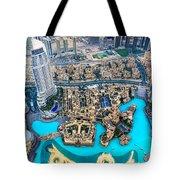 Dubai Downtown - Uae Tote Bag