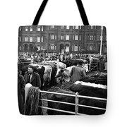 Dublin Cattle Market 1959 Tote Bag