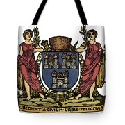Dublin Coat Of Arms Tote Bag