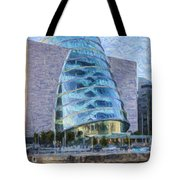 Dublin Convention Centre Republic Of Ireland Tote Bag