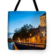 Dublin Four Courts Tote Bag